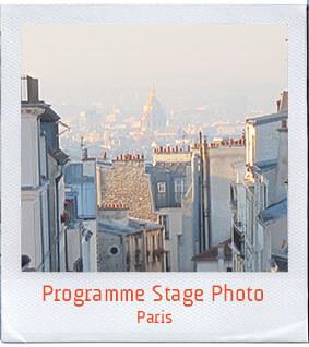 Stage ados photo programme paris